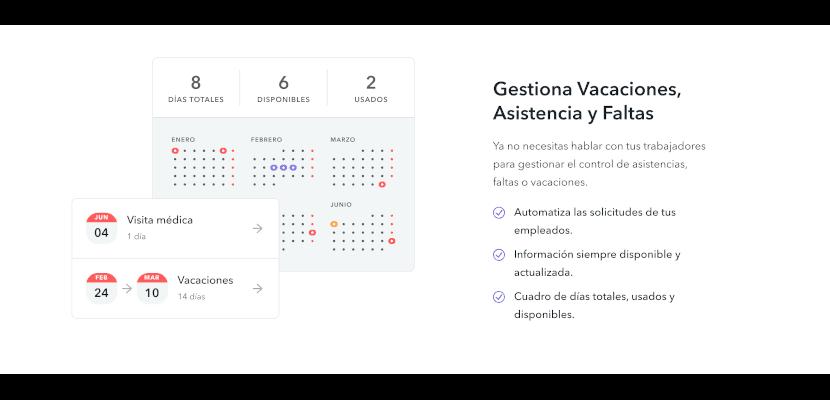 dias disponibles totales usados gestion vacaciones