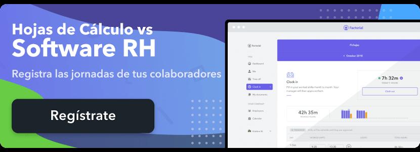 hojas calculo vs software rh