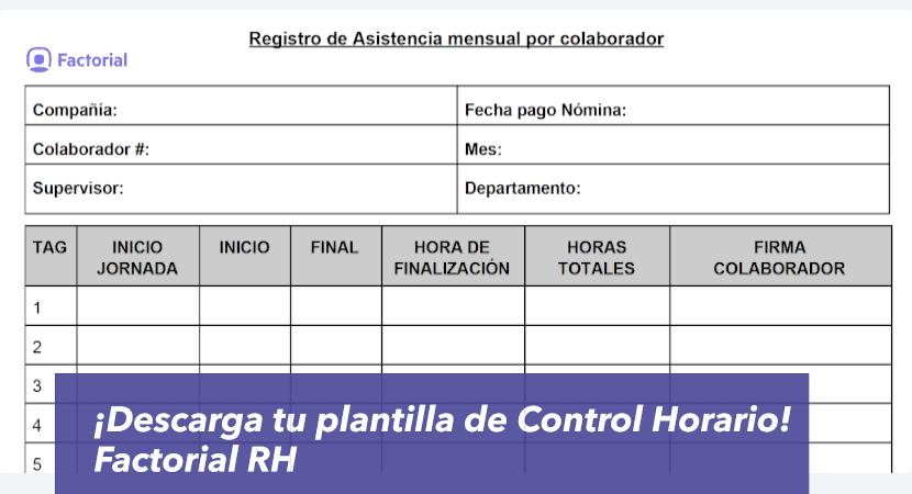 plantilla control horario